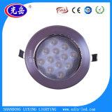 Preço de grosso de luz de teto do diodo emissor de luz da boa qualidade 12W com entrega rápida