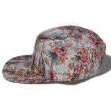 Protezione floreale in bianco normale su ordinazione del cappello dei 5 comitati di Hip Hop