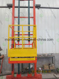 Professional Automotive Spraying Room Vertical 3-Axis Platform Man Lift