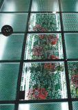 L'art décorent la glace Tempered en verre antidérapante