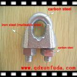 Formbarer Stahltyp ein Drahtseil-Klipp