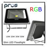Luz de inundação de alumínio do diodo emissor de luz da carcaça IP66 50W para ao ar livre