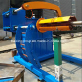 De hydraulische Machines van Decoiler van de Strook van het Staal van de Kleur
