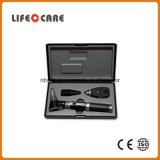 Oftalmoscopio ed otoscopio diagnostici medici della fibra