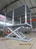 Garagem com aprovação CE de tesoura hidráulica de elevação automática