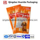 Sac en plastique populaire fait sur commande de module de joint de quarte pour l'aliment pour animaux familiers