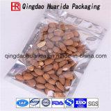 Folha de alumínio plástica Transparente Zip Lock Food Bag for Nuts
