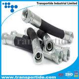 3/8 Zoll eingewickelter hydraulischer Gummischlauch der Deckel-Oberflächen-R16/2sc