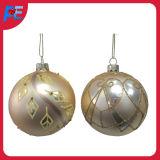 Ornamento d'attaccatura della sfera di vetro per le decorazioni di natale
