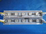 SMD 5050 Amarillo claro Módulo 5 LED resistente al agua