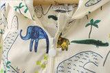 &Jacket caliente de la capa de la historieta del bebé lindo de la pintada en invierno