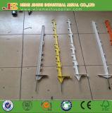 Пластичный ограждая коль/электрический ограждая столб для загородки животных
