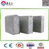El peso de la luz de alta tasa de cemento ignífuga sándwich EPS el panel de pared