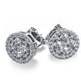 Monili caldi degli orecchini della vite prigioniera dell'argento sterlina di vendita 925
