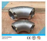 Cotovelo sem emenda do Sénior do aço inoxidável de encaixes de tubulação Ss316 do ANSI