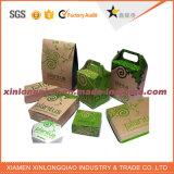 Изготовленный на заказ логос напечатал любую имеющююся бумажную упаковывая коробку формы/размера/цвета