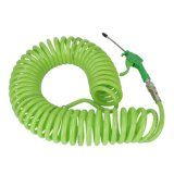 12m Recoil Pu Air Hose 12 door 8 mm Green