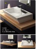 반대 예술 물동이/사각 백색 사기그릇 세척 수채 (YJ7430)의 위 팔기에 적합한 제품 유럽 Stlye