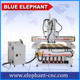 Ele 1325空気のマルチスピンドルCNCのルーター、木の働きのためのAtc機能の3D CNCのルーター