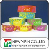 Event를 위한 Your Logo를 가진 싼 One Time Use Paper Tyvek Wristband