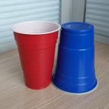 مباشر مصنع بيع بالجملة [18وز] [510مل] مستهلكة [بس] يحتفل أحمر بلاستيكيّة [أمريكن] منفردا فنجان
