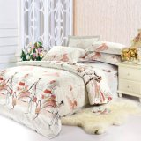 Jogo 100% do fundamento da alta qualidade do algodão de matéria têxtil para a tampa do Duvet do Comforter da HOME/hotel