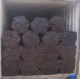 Precio de fábrica Q235 laminado en caliente de tubos de acero ERW