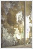 antieke Spiegel van de Spiegel van 36mm de Zilveren voor Decoratie/Venster/Muur