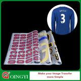 Etiqueta da transferência térmica de DIY para a camisa de T