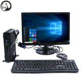 Intel i7 4500u Mini PC Fanless con arquitectura Haswell a 1,8 Ghz, 4G RAM 1TB de disco duro dual LAN+HDMI