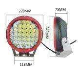 """luz del trabajo de conducción de la viruta LED del CREE del coche 9 """" 185watts/del carro"""
