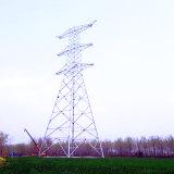 Circuits monophasés 220 Kv et circuit doux à circuit électrique de 110 Kv et 10 Kvv Four Circuit Steel Tube Tower