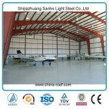 가벼운 Prefabricated 구조 강철 항공기 격납고 집 프로젝트