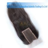 frontal del cordón del pelo rubio 360 de la Virgen 5A