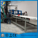 Chaîne et carton de production ondulés à grande vitesse de papier cartonné faisant la machine