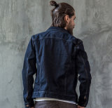 Осени способа хлопка OEM людей отдыха просто куртка джинсыов пальто самых последних