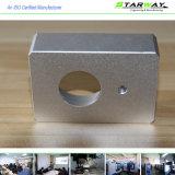 Pièces en aluminium de précision faite sur commande avec les pièces de usinage de commande numérique par ordinateur