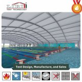 Tienda clara grande de la piscina del polígono del palmo para la cubierta de la piscina
