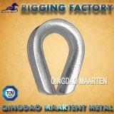 炭素鋼軽量G411ワイヤーロープケーブルの指ぬき