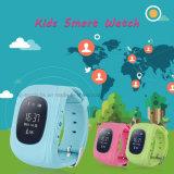 Sos 단추 (Y2)를 가진 GPS 추적자 시계가 다중 언어에 의하여 농담을 한다