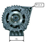 12V 105A Alternator voor Bosch Buick Lester 11045 0124415035