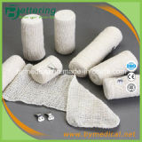 Braceletes Elásticos de Crepe Elásticos de algodão natural