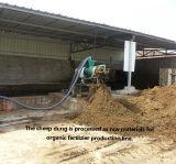 Nouvelle conception de la machine de séchage de fumier de porc le fumier de poulet de l'assèchement de la machine