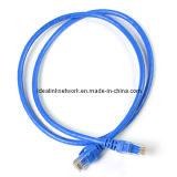 CAT6 UTP Netz-Steckschnür-Kabel-Blau Idealink