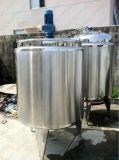 Réservoir de mélange de fonte de sucre de qualité d'acier inoxydable