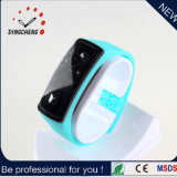 China Wholesale 2015 Sport Style Silicone Wristband Mirror LED Watch (DC-056)