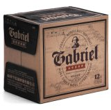 Abv4.3% 11plato 418ml botella marrón Gabriel Black Cerveza