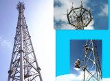 Tubo de acero galvanizado 3leged celda Towr Telecom
