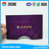 Бумага RFID информации защищая преграждая держатель кредитной карточки