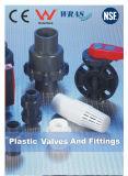 Клапаны пластмассы водоснабжения CPVC горячие